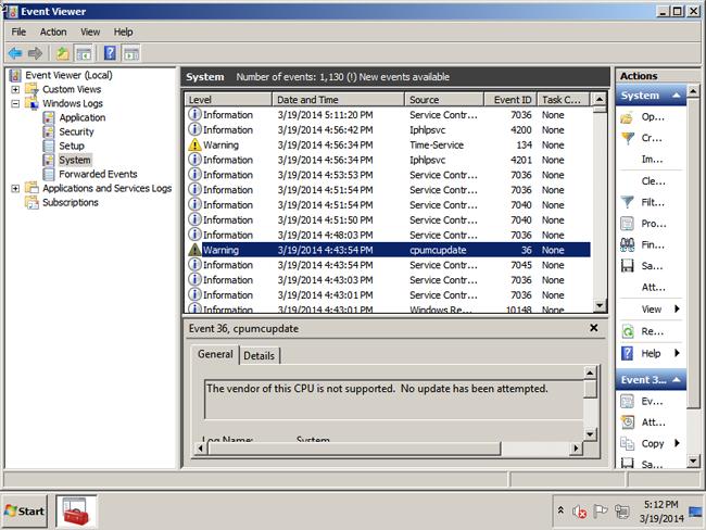 VMware CPU Microcode Update Driver | VMware Labs