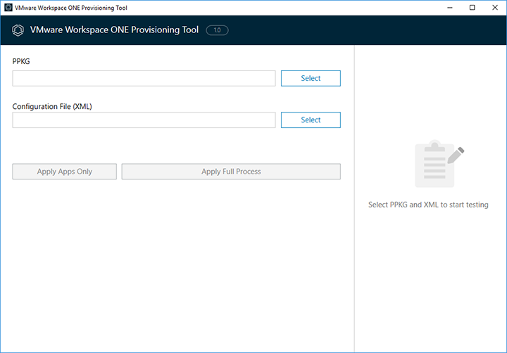 VMware Workspace ONE Provisioning Tool | VMware Labs